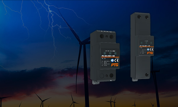 雷电流保护器 - 1+2级,信号防雷器,深圳普泰电气